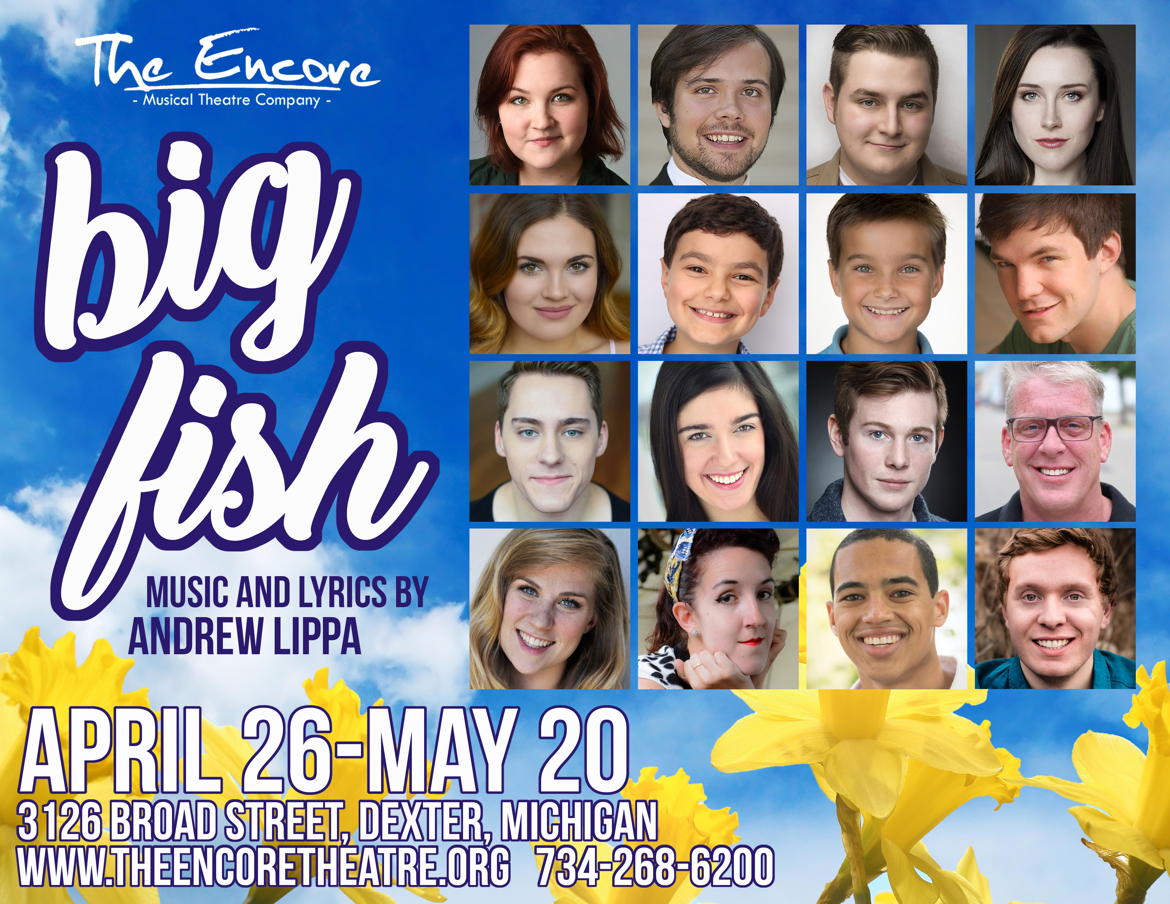 The encore musical theatre company dexter mi for Big fish characters